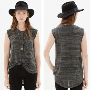 Madewell Tipoff Placket Tank Top